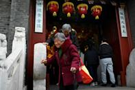 Decades of a one-child policy has built in a demographic challenge for China, with a low birth rate and the world's largest population of elderly to provide for
