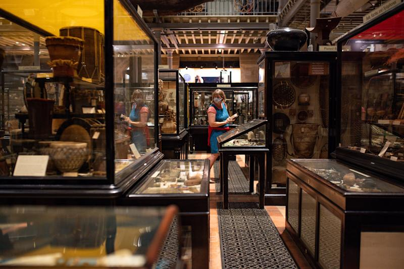 Interior del Museo Pitt Rivers en Oxford. (Photo by Jacob King/PA Images via Getty Images)