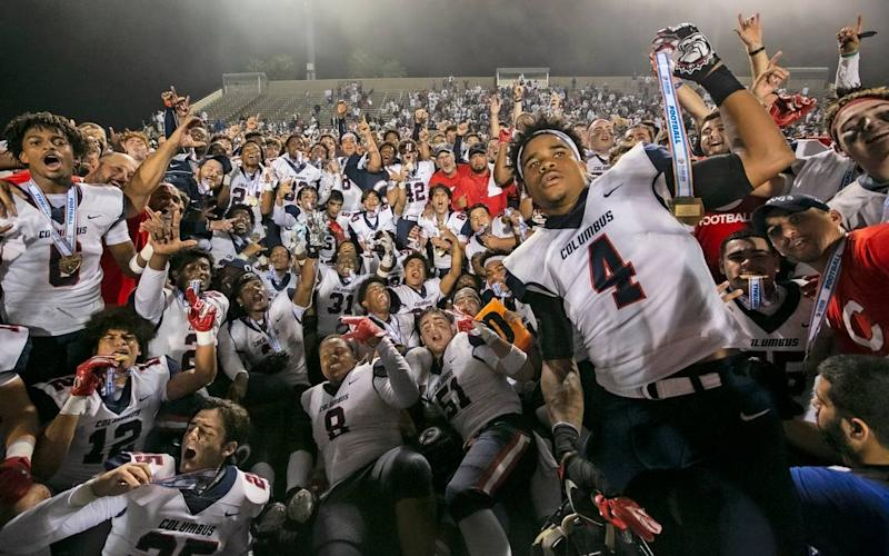 Most of South Florida won't play for high school football state championships this year