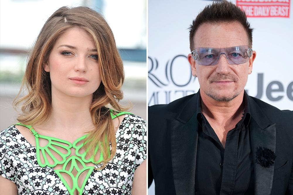 """Actress Eve Hewson is one of Bono's four children. She starred with Sean Penn in """"This Must Be the Place."""" """"I don't get handed money--and I never will,"""" she said. """"I have to work!"""""""