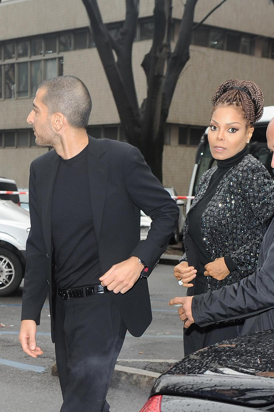 Wissam Al Mana and Janet Jackson split in 2017 — and it isn't a conscious uncoupling. (Photo: Jacopo Raule/Getty Images)