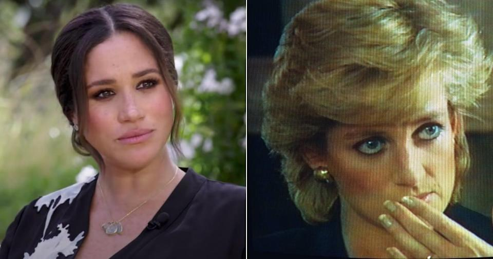 Was Meghan Markle's Bold Eyeliner During Her Oprah Interview a Subtle Nod to Princess Diana?