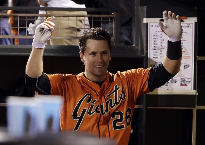 Buster Posey remains the centerpiece of San Francisco's offense. (AP)