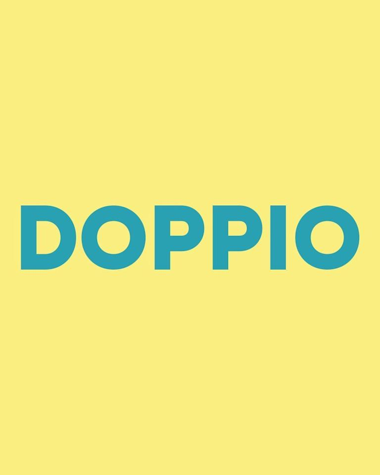 <p>A doppio is simply a double espresso, which is 60ml of espresso. Not a bad shout if you're having one of those mornings.</p>