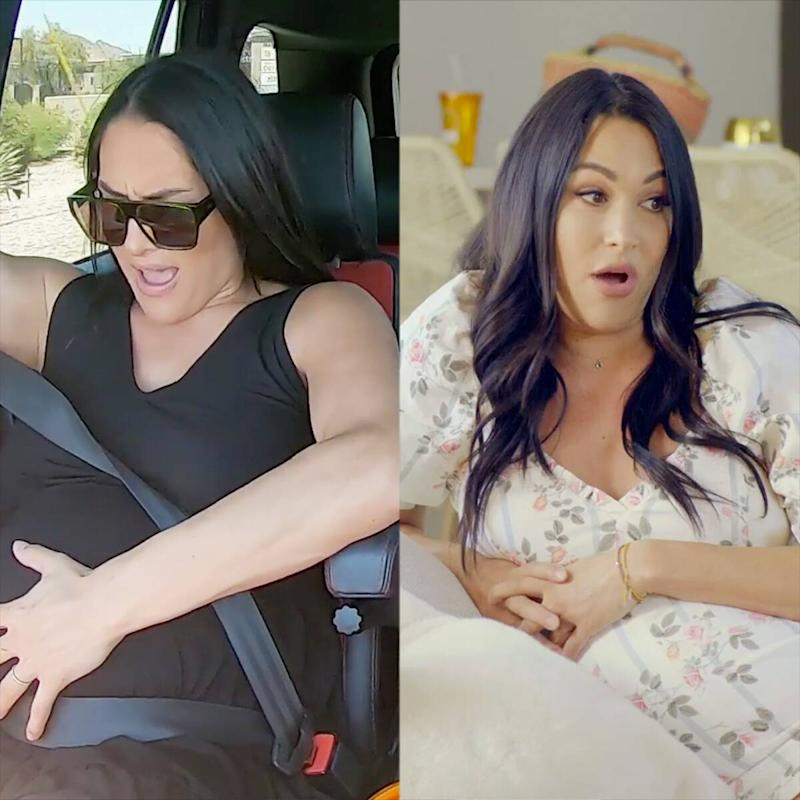 Brie & Nikki Bella Go Completely Nude for Stunning Joint Maternity Shoot - Worship Media