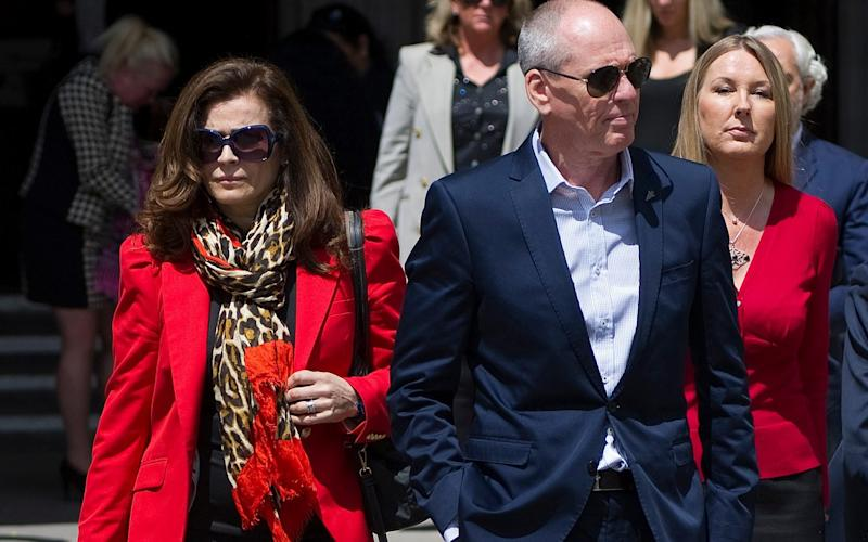 Crime boss Terry Adams with his wife Ruth
