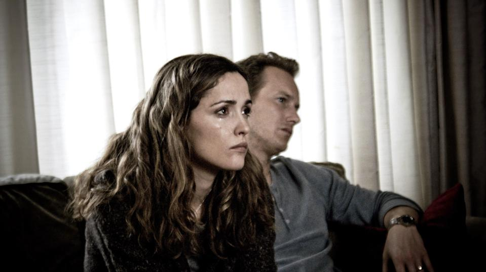 """<p>""""I stand firm in my belief that Rose Byrne is one of the greatest working actors,"""" Rosa says. """"And <em>Insidious</em> is my biggest piece of evidence. She is devastating and nuanced as the mother of a boy whose mind has left his body and entered a disturbing, terrifying other-realm. That bloody face pop-out scare? I still get chills thinking about it. Four months later, Byrne starred as Helen in the <a href=""""https://www.glamour.com/gallery/funny-movies-on-netflix-hbo-hulu-amazon?mbid=synd_yahoo_rss"""" rel=""""nofollow noopener"""" target=""""_blank"""" data-ylk=""""slk:comedy classic"""" class=""""link rapid-noclick-resp"""">comedy classic</a> <em>Bridesmaids</em>, further showcasing her impressive range."""" </p> <p><a href=""""https://www.netflix.com/title/70142542"""" rel=""""nofollow noopener"""" target=""""_blank"""" data-ylk=""""slk:Available to stream on Netflix"""" class=""""link rapid-noclick-resp""""><em>Available to stream on Netflix</em></a></p>"""