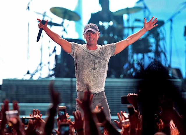 <p>After two decades of stardom, the country superstar finally received his first nom for Best Country Album for <em>Cosmic Hallelujah</em>. (Photo: Kevin Winter/Getty Images for Stagecoach) </p>