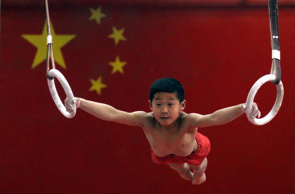 Potential Chinese Olympians are identified and groomed at a young age. (Reuters)
