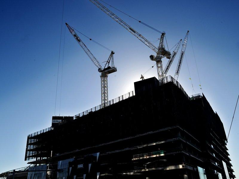 Construction activity declined in December
