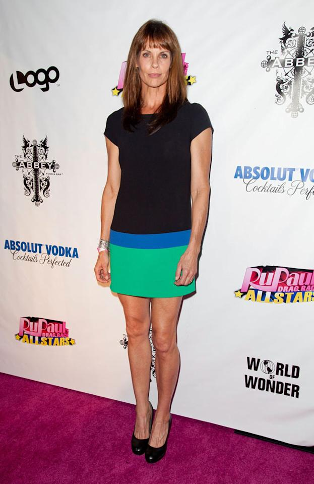 """Alexandra Paul arrives at the """"RuPaul's Drag Race: All Stars"""" Premiere Party at The Abbey on October 16, 2012 in West Hollywood, California."""