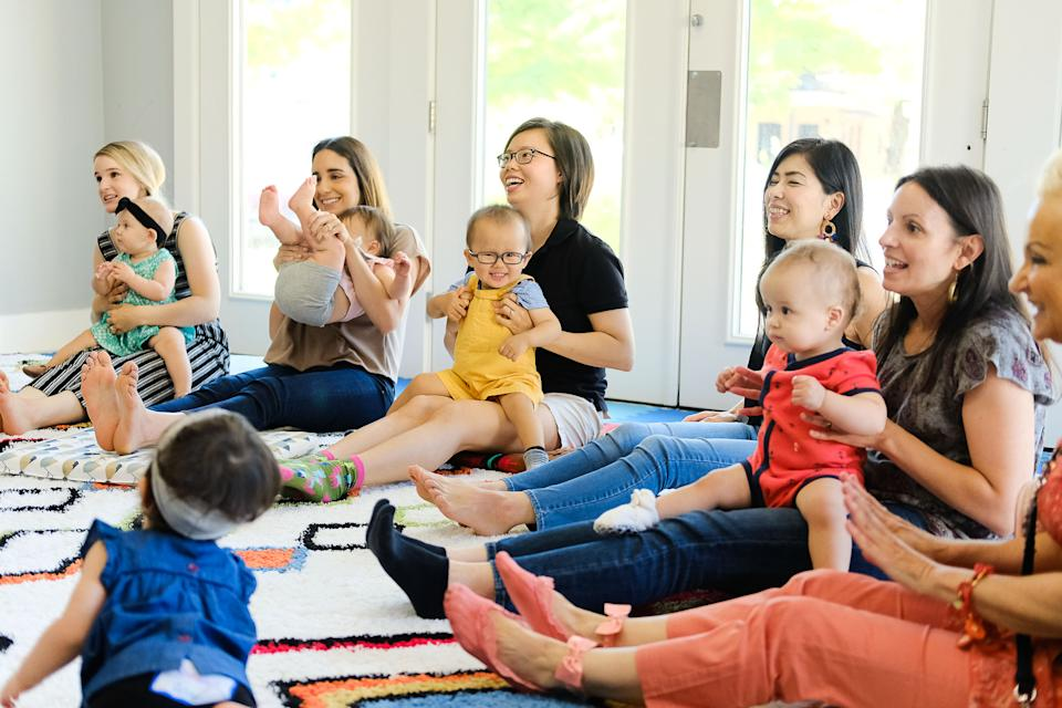 Erin Donnelly and her son are enjoying baby Spanish music classes with Mi Casa Es Tu Casa, which is currently offering Zoom sessions. (Photo: Mi Casa Es Tu Casa/CARLI RENE INKEDFINGERS)