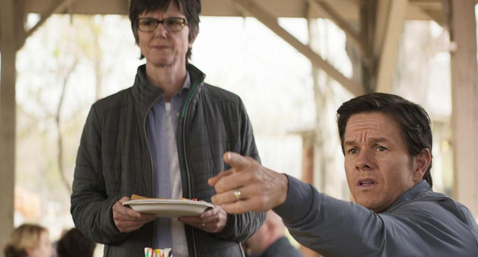 Mark Wahlberg puts his foot right in it in this new clip from <i>Instant Family</i>. (Paramount)
