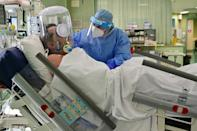 The Seriate hospital's intensive care ward is once again running at capacity