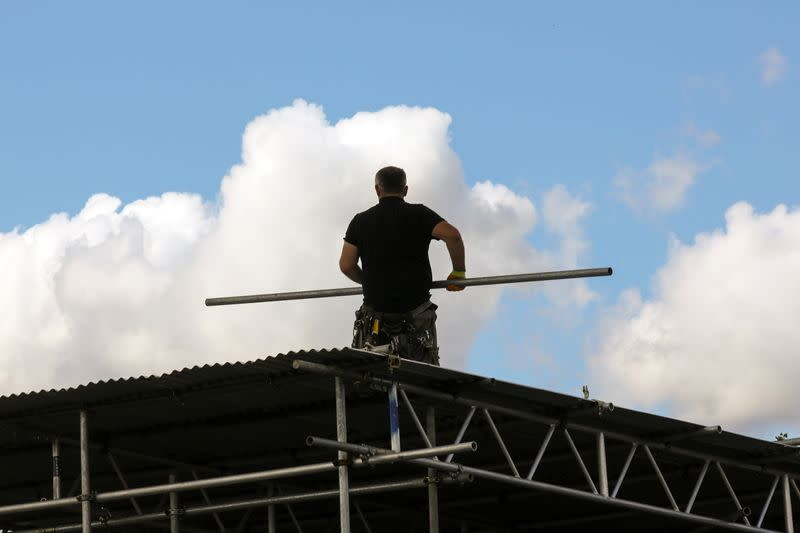 UK construction activity jumps in July, but jobs at risk - PMI