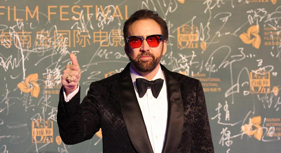 """<p>The actor married his fourth wife, make-up artist Koike, on Saturday 23 March 2019 and reportedly <a href=""""https://www.independent.ie/style/celebrity/celebrity-news/nicolas-cage-files-for-annulment-four-days-after-marrying-girlfriend-of-one-year-37963110.html"""" rel=""""nofollow noopener"""" target=""""_blank"""" data-ylk=""""slk:filed for annulment"""" class=""""link rapid-noclick-resp"""">filed for annulment </a>four days later. Although it is unclear why the pair have separated, it is known they were dating for less than a year before they tied the knot, first being pictured together in April 2018. <em>[Photo: Getty]</em> </p>"""