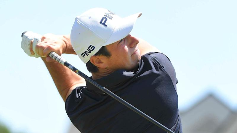 Watch: Hovland puts pause back in play at Travelers