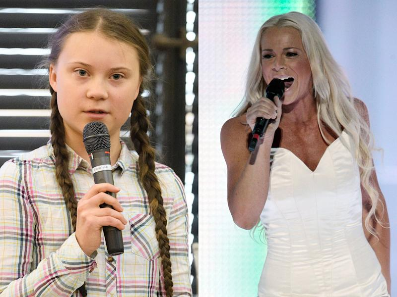 Greta Thunberg's mother is a former Eurovision contestant and Twitter is ecstatic