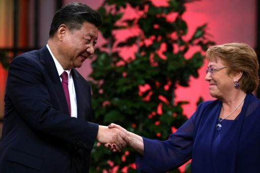 Chile, China start talks to expand trade deal