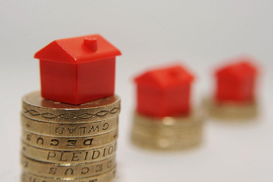<p>Average UK house prices rose in May</p> (Joe Giddens/PA Wire)