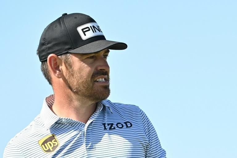 South Africa's Louis Oosthuizen leads the British Open after three rounds at Royal St. George's