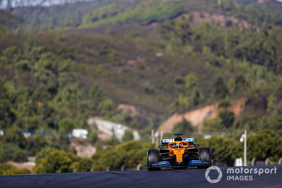 "Carlos Sainz Jr., McLaren MCL35 <span class=""copyright"">Sam Bloxham / Motorsport Images</span>"