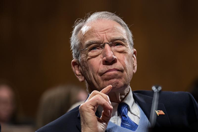 Chuck Grassley: I'm only three heartbeats from the presidency