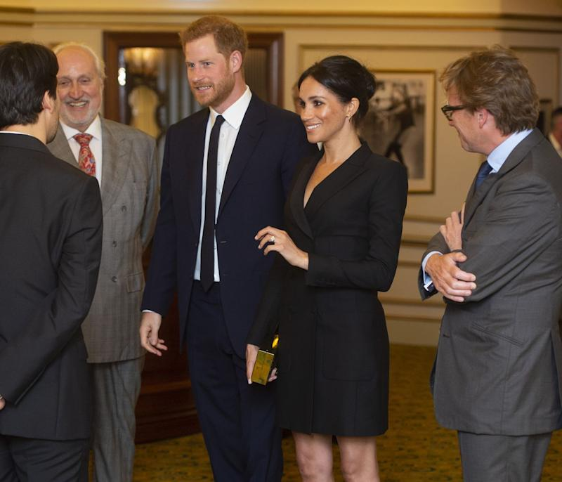 Rachelle Ann Go meets Prince Harry and Meghan Markle