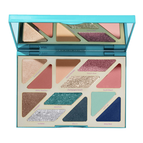Tarte Rainforest Of The Sea™ High Tides & Good Vibes Eyeshadow Palette. (PHOTO: Sephora)