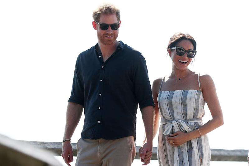 Prince Harry and Meghan Markle on tour in Australia (Getty Images)
