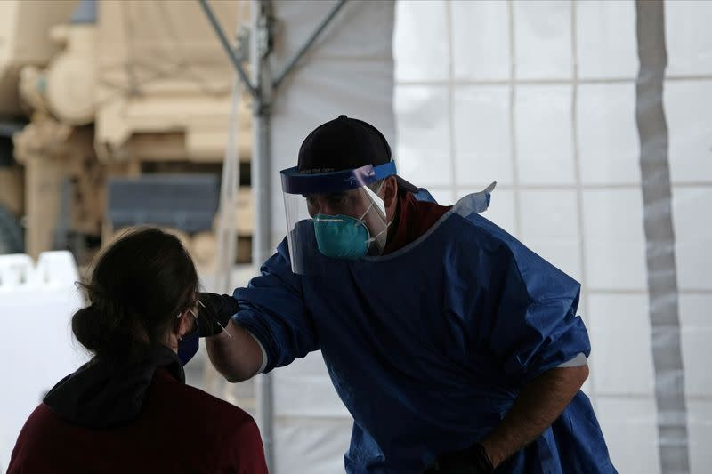 Wisconsin to open field hospital as COVID-19 hospitalizations surge