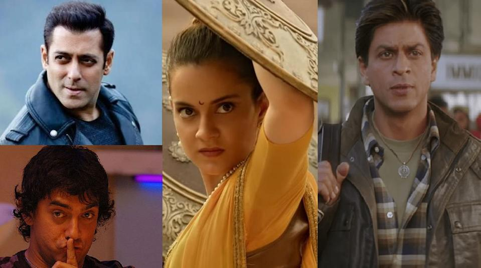 Though she is a decade and 3 National Awards old in the industry, Kangana has worked with none of the helming Khans. And we doubt if she will ever be seen with any of them. There has been a lot of mud-slinging - a lot of it. Though SRK has always been very wise in his conduct, the actress has been vocal of her dislike for camps that revolve around King Khan. During the release of Manikarnika, she had expressed her disappointment in Aamir Khan for not supporting her movie. Now, though she refused to star is <em>Sultan, </em>she is willing to work with Salman. We all have to wait and watch - patiently.