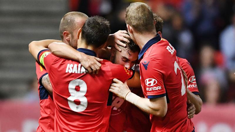Adelaide United 3 Wellington Phoenix 1: Hosts up to fourth with easy win