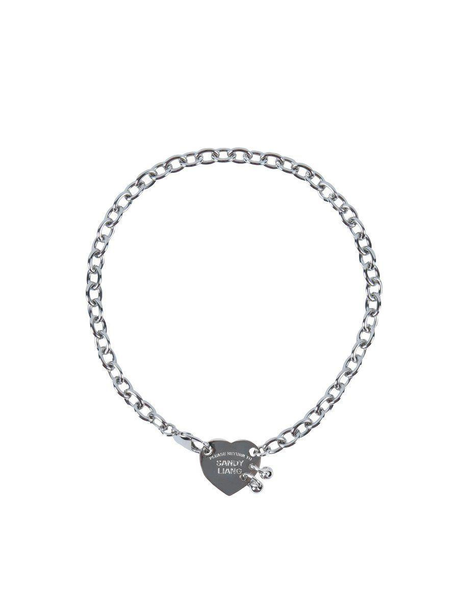 """<p><strong>Sandy Liang</strong></p><p>sandyliang.info</p><p><strong>$165.00</strong></p><p><a href=""""https://www.sandyliang.info/collections/jewelry-1/products/return-to-sandy-liang-necklace"""" rel=""""nofollow noopener"""" target=""""_blank"""" data-ylk=""""slk:Shop Now"""" class=""""link rapid-noclick-resp"""">Shop Now</a></p><p>The meaning behind this sweet charm is pretty clear: your sister will always have your heart. </p>"""