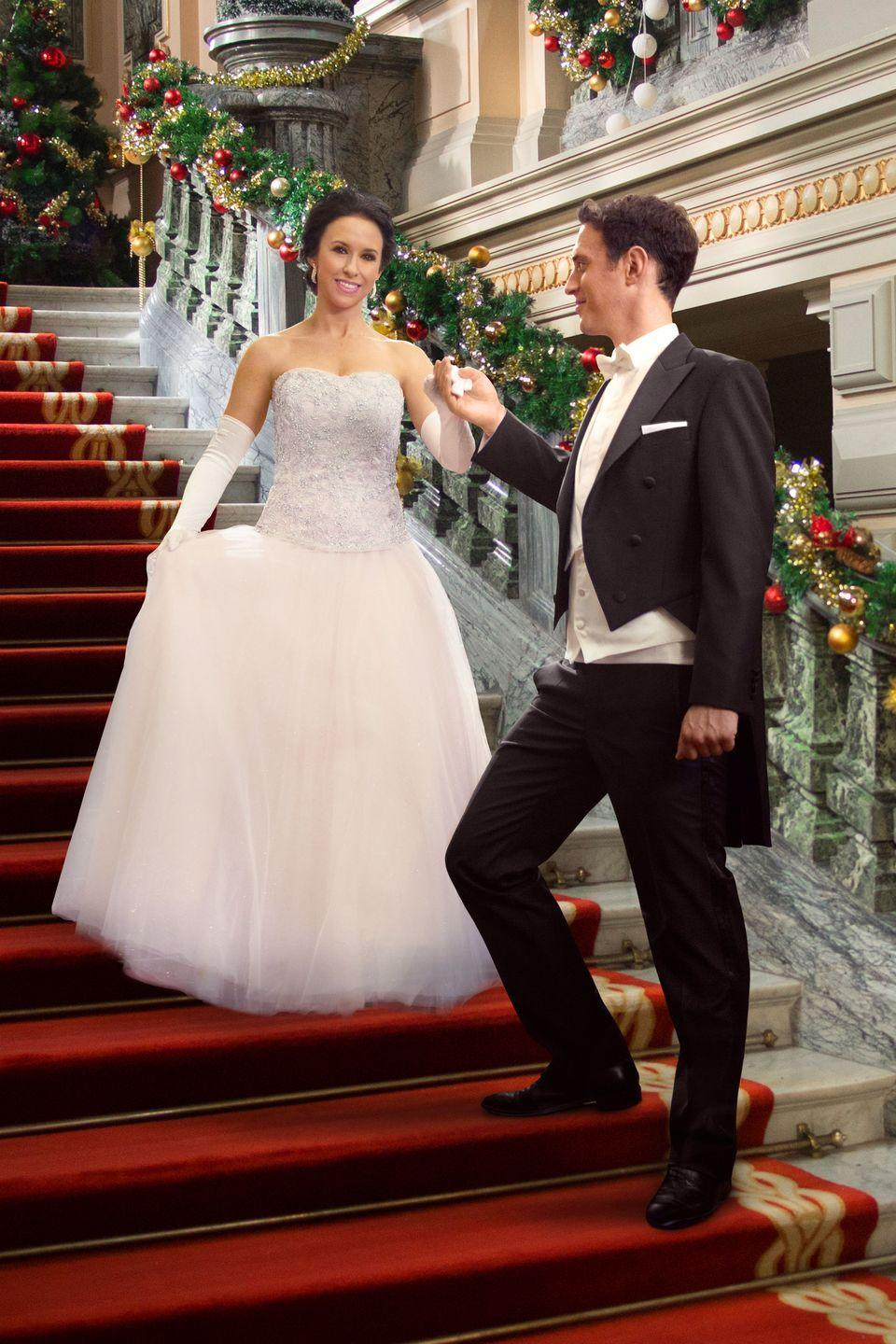 <p>When seamstress Emily (Lacey Chabert again) finds out that her boyfriend (Stephen Hagan) is actually a prince, she heads home with him for Christmas and tries to convince his mother, the queen (Jane Seymour), that they're a good match.</p>