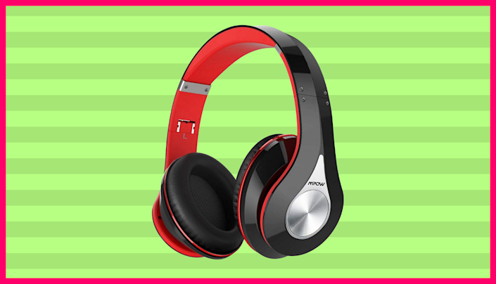 These slick headphones are just $23 — not a typo. (Photo: Amazon)