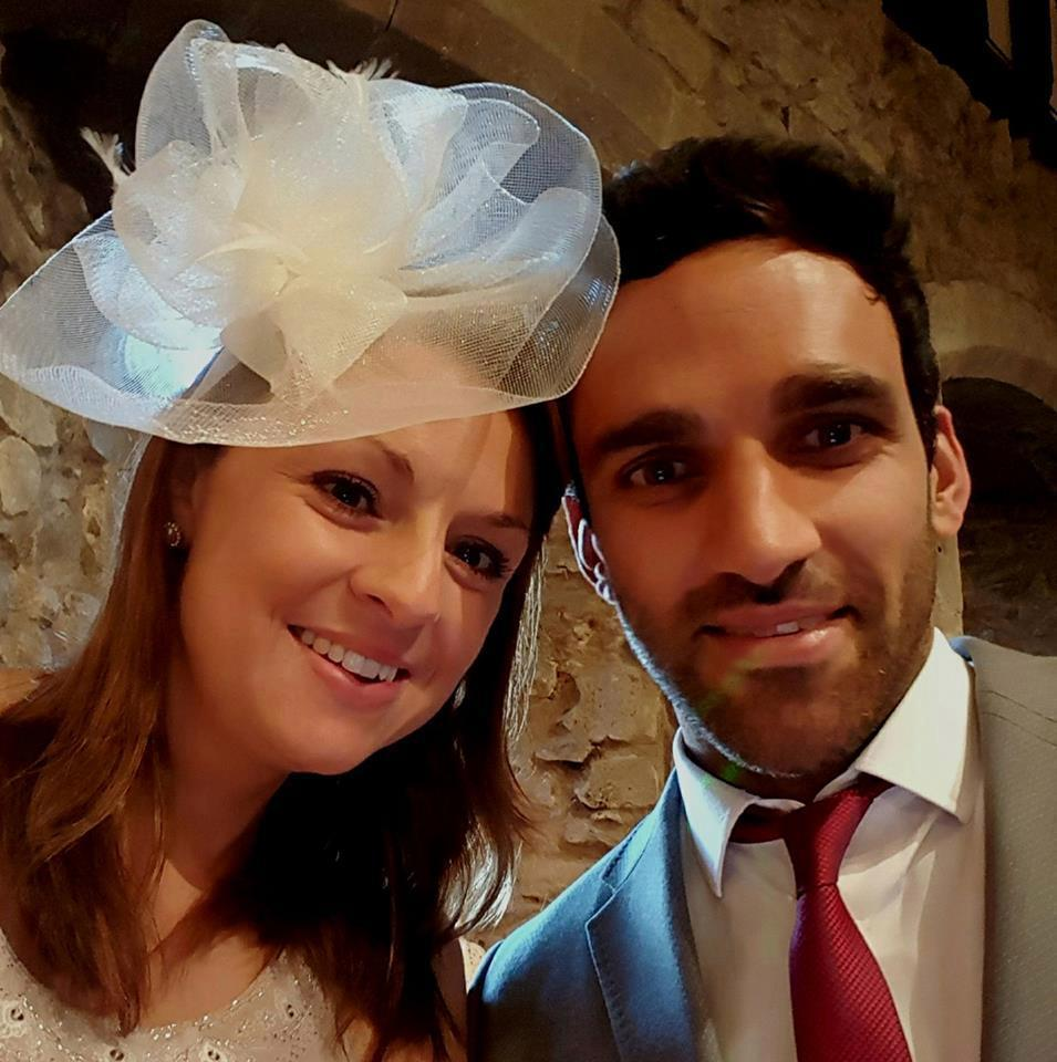 Davood with his wife, Isobel. Copyright: [BBC]