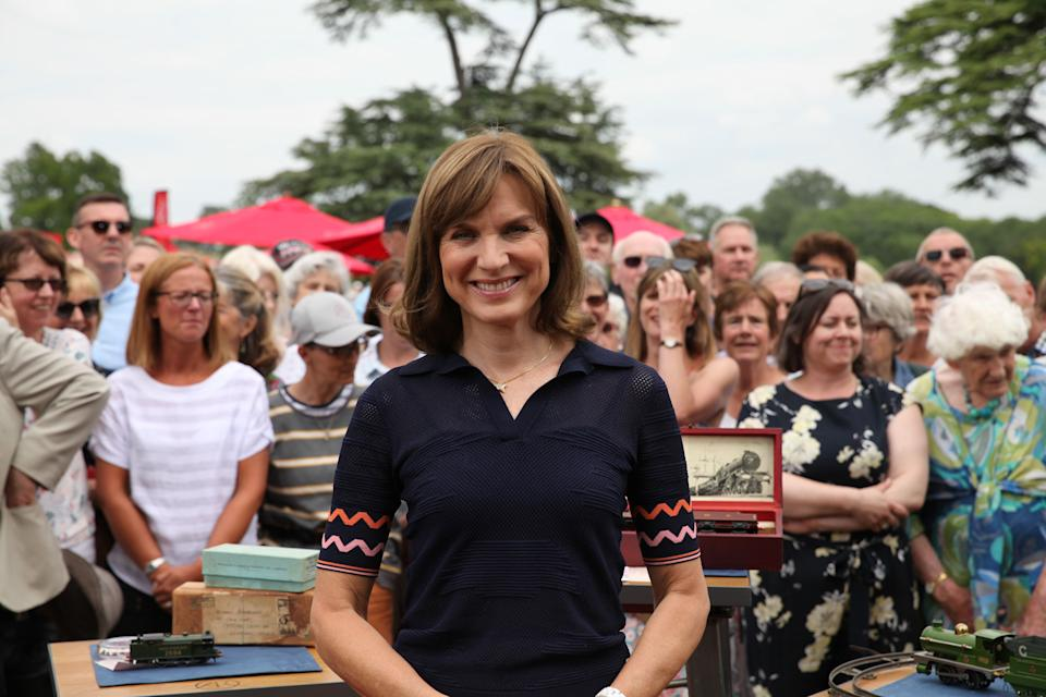 Fiona Bruce will host the 'Antiques Roadshow' in front of a small invited audience. (BBC)
