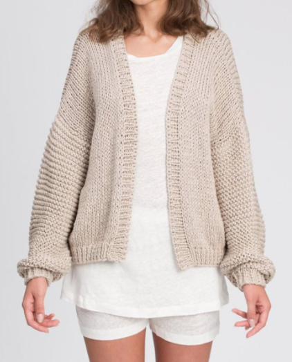 The Knotty Ones Chunky Cable Knit Cardigan
