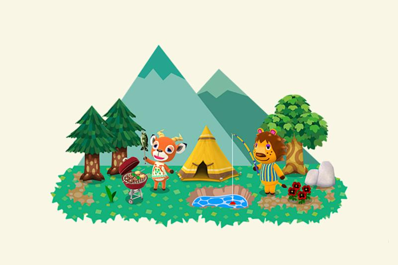 Happy campers: Animal Crossing is coming to smartphones with new Pocket Camp game: Nintendo