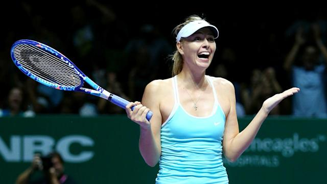Former world number one Maria Sharapova says she has been training hard for four months as she closes in on a WTA Tour comeback in April.