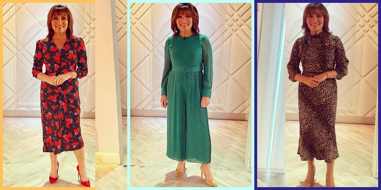 """<p><a href=""""https://www.prima.co.uk/lorraine-kelly/"""" target=""""_blank"""">Lorraine Kelly</a> is one of our favourite presenters here at Prima, and while we love her daily show and celebrity interviews, we also love her sense of style. </p><p>The 60-year-old host of ITV's Lorraine and our December cover star always brings the looks, whether she's rocking chic midi dress or pulling out all the stops in some leather pants, she's always one to watch.</p>"""