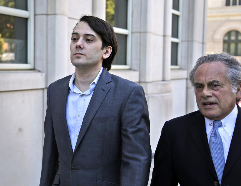 Shkreli Defense Opens Securities Trial to Tune of 'Born This Way'