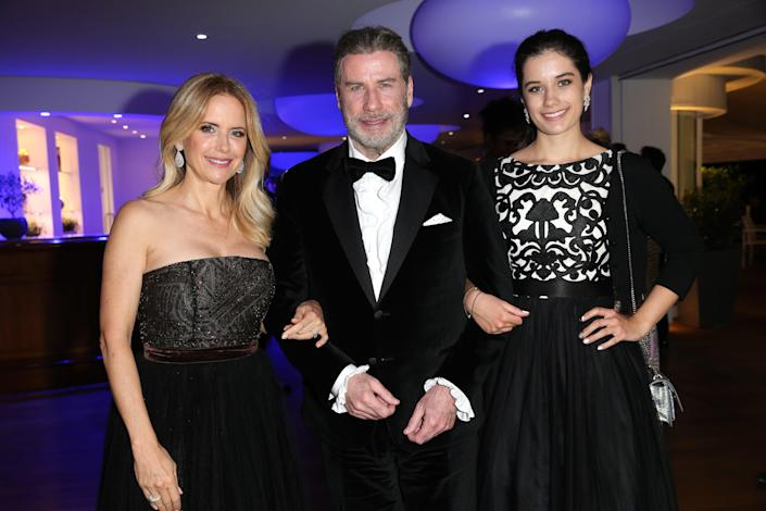 John Travolta and daughter Ella are honoring the late Kelly Preston (pictured in May 2018) following her death from breast cancer. (Photo: Gisela Schober/Getty Images)