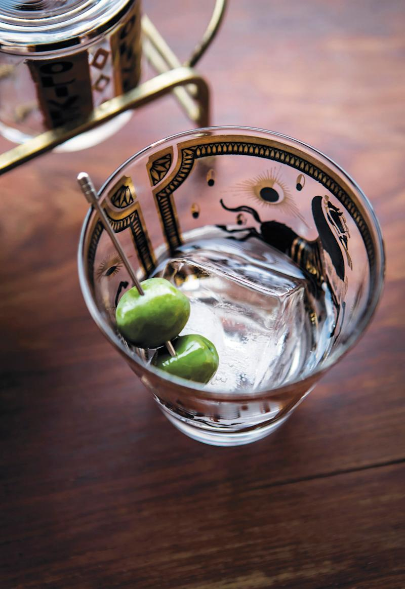 The easiest martini recipe is the martini-on-the-rocks.