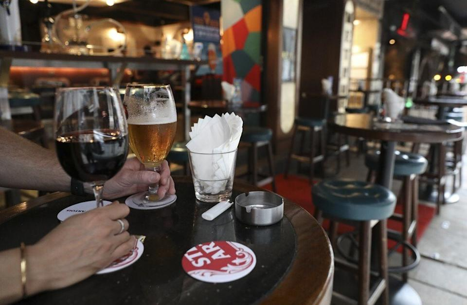 Business for bars and other nightlife venues has been muted for much of October. Photo: Nora Tam