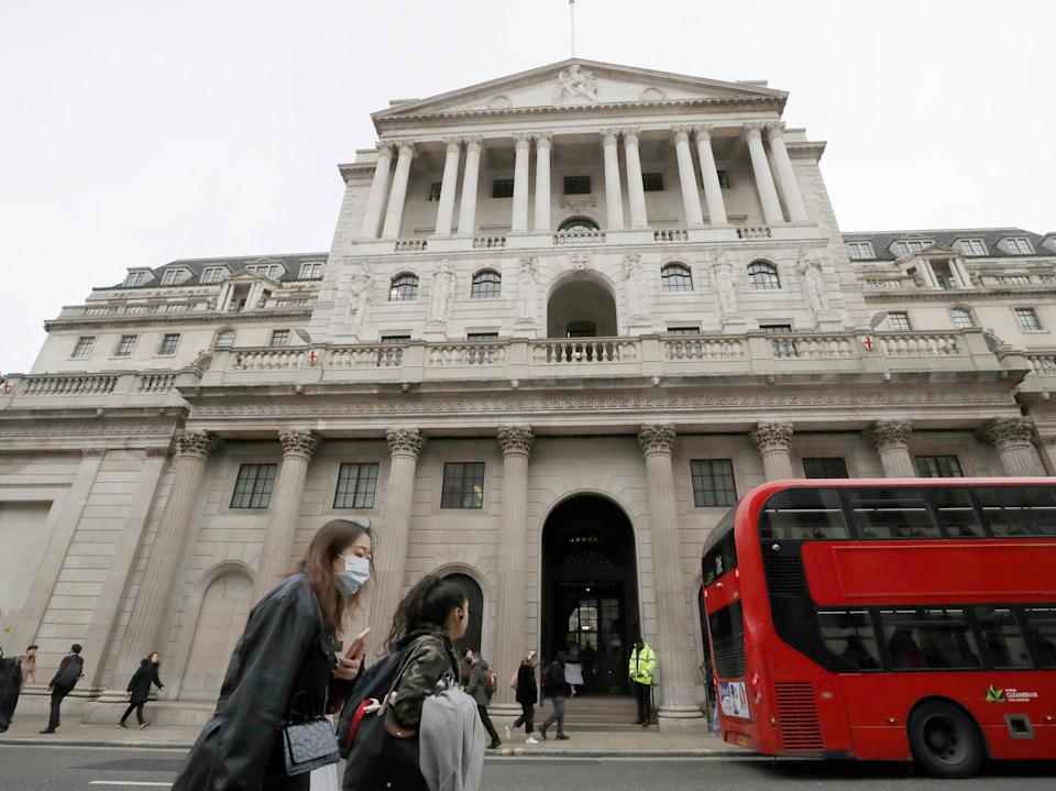 <p>The Bank has said it will maintain course as it targets a rise in inflation</p> (AP)