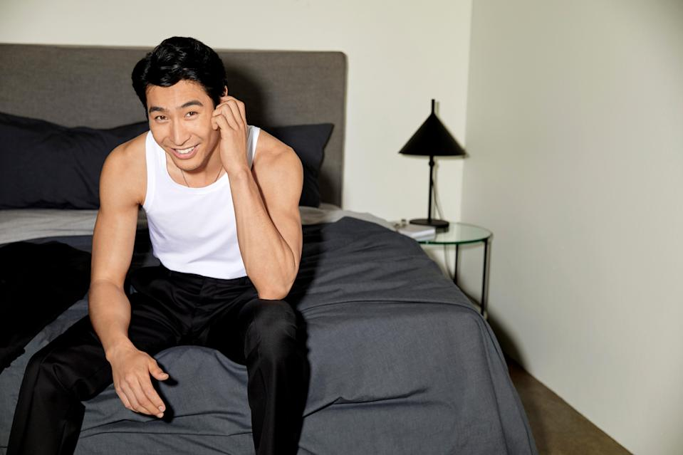 Actor Chris Pang of Crazy Rich Asians fame is already onto the next big thing. Photo: Sheridan