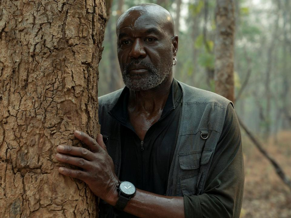 <p>'Clearly I'm a volatile individual but I have legitimate reasons for the volatility': Delroy Lindo as Paul in Da 5 Bloods</p> (David Lee/Netflix)