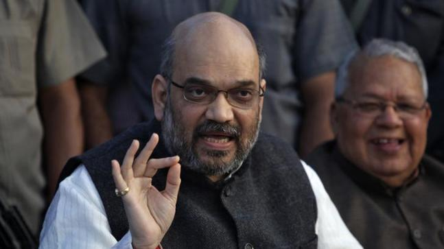 BJP president Amit Shah on Saturday demanded an apology from Gandhi for misguiding and defaming the country in the name of Hindu terrorism.